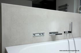Betonoptik im Badezimmer