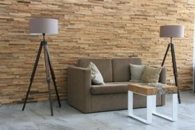 Wandgestaltung mit Wandbelägen von Woodtime