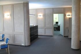 Glättetechnik in Büroräumen